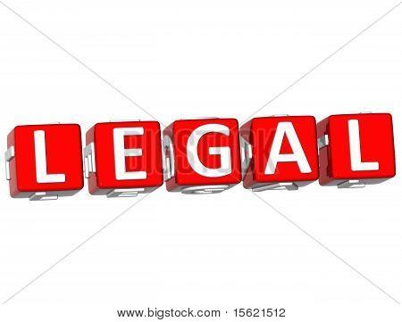 Rechtliche Cube Text