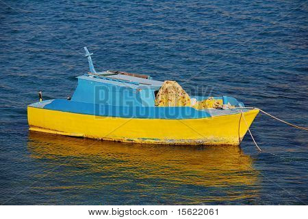 Fishing boat, Halki island