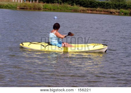Mature Kayaking