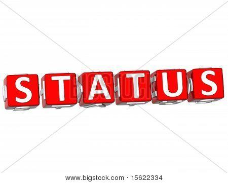 Status Cube Text