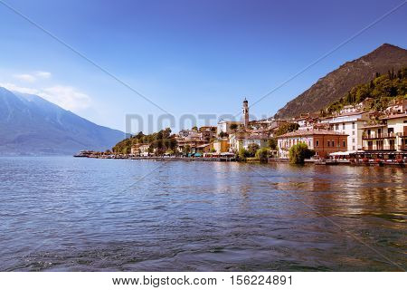 Limone sul Garda is a town in Lombardy (northern Italy) on the shore of Lake Garda.