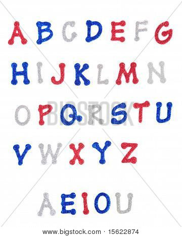 Sparking U.s. Patriot Alphabet