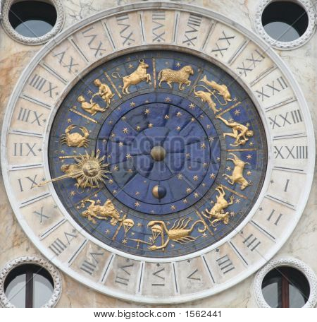 Horoscope Clock Of Venice