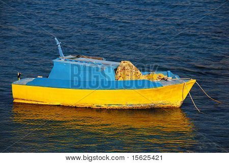 Small fishing boat, Halki