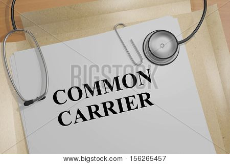 Common Carrier - Medical Concept