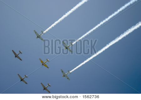 Fly-Over By Squadron