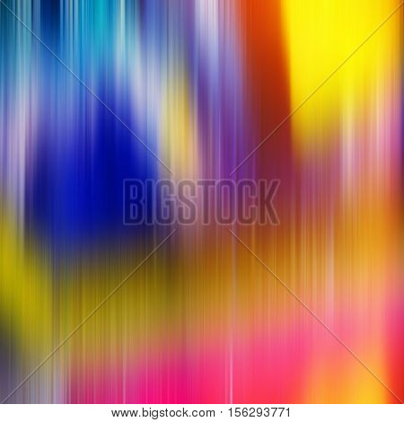 abstract composition colored lines yellow blue
