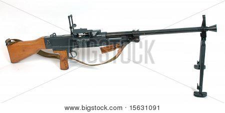 Medium Machine Gun On Bipod