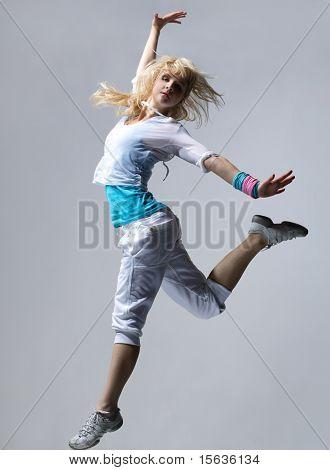 hip-hop dancer posing
