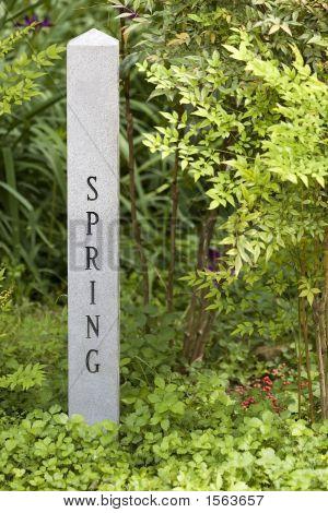 Spring Garden Sign