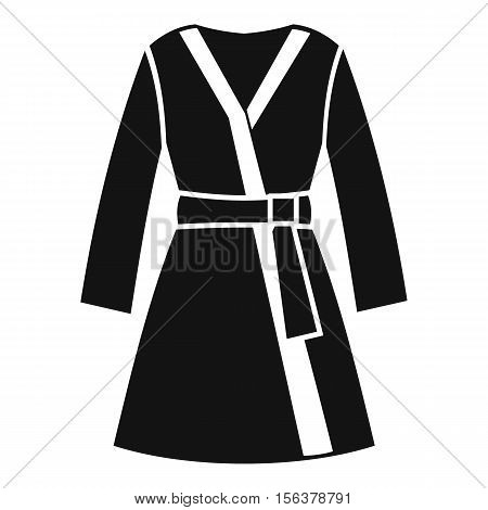 Bathrobe icon. Simple illustration of bathrobe vector icon for web design