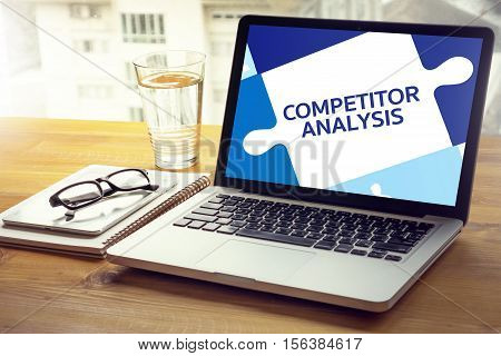 Competitor Analysis And Product Life Cycle Businessman Plan