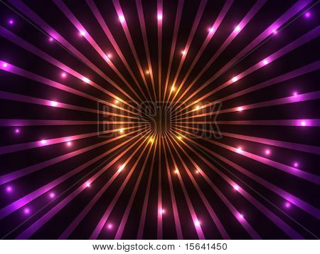 Colorful rays and lights vector background. EPS10 file.