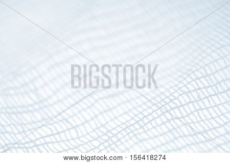 gauze or bandage closeup, abstract background or texture