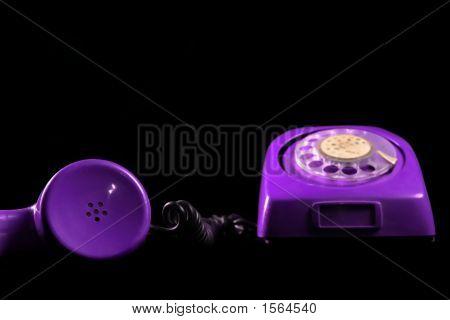 Teléfono violeta