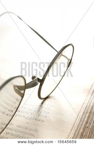 old eyeglass