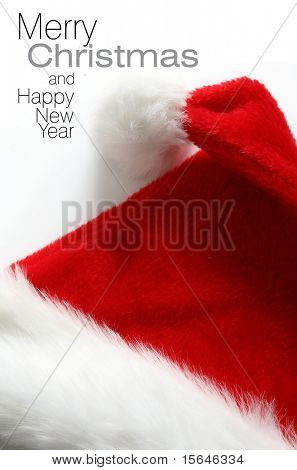 Santa hat (easy to remove the text)