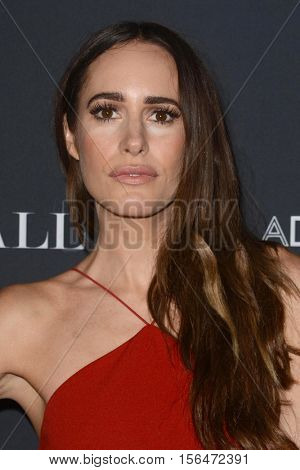 LOS ANGELES - NOV 11:  Louise Roe at the Annual Baby Ball in honor of World Adoption Day at NeueHouse on November 11, 2016 in Los Angeles, CA