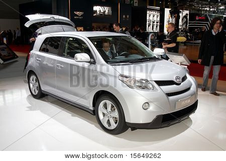 PARIS, FRANCE - OCTOBER 02: Paris Motor Show on October 02, 2008, showing Toyota Urban Cruiser, front view