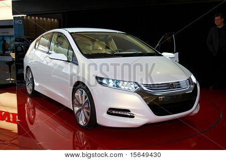 Paris, Frankreich Oktober 02: Paris motor Show auf Oktober 02, 2008, zeigt Honda Insight Konzept, Rea