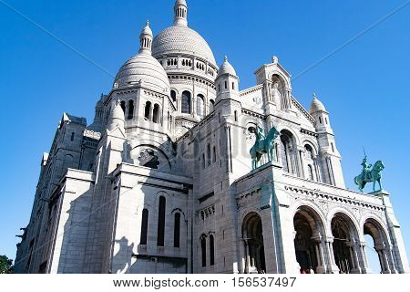 Views of Montmartre and the Sacre Coeur Church, Paris, France
