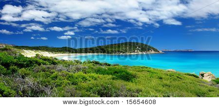 Beautiful Panoramic Beach Landscape