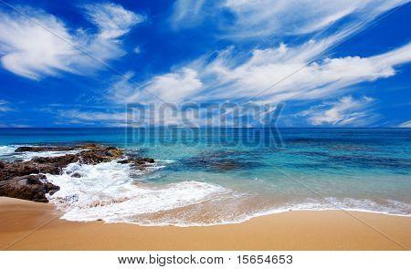Hermosa playa en Australia del sur