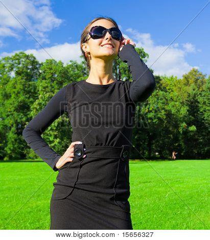 Woman Closeup Outdoor