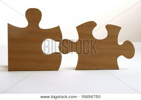 puzzle isolated