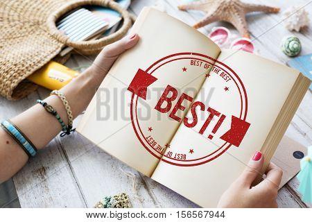 Best Choice Award Finest Winning Fulfillment Concept