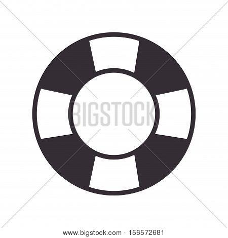 float ship maritime frame vector illustration design