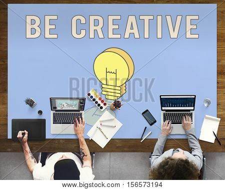 Inspire Fresh Ideas Creativity Concept