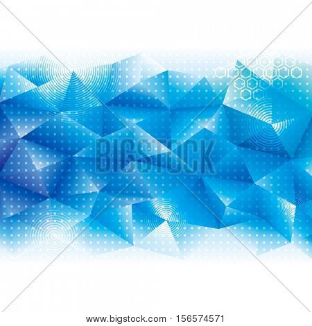 Geometric Tech Background