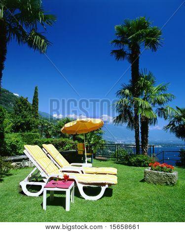 swiss towo chairs holiday