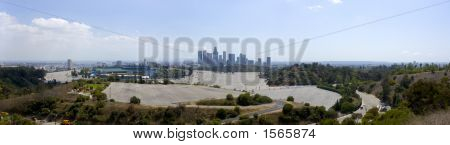 Los Angeles Downtown Daytime Skyline