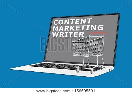 Content Marketing Writer Concept