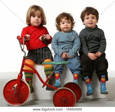 drei Beautifulst der Kinder