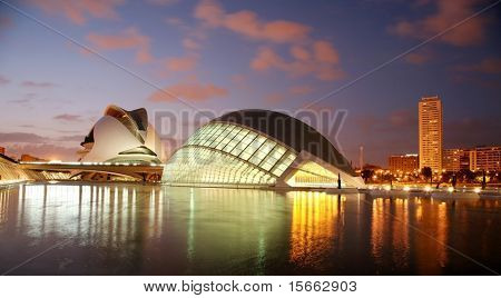 arquitectura en valencia, santiago calatrava