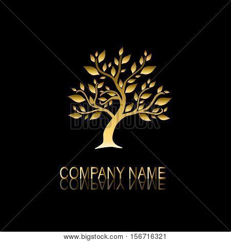 Golden Tree Symbol