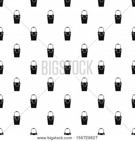Bucket and rag pattern. Simple illustration of bucket and rag vector pattern for web