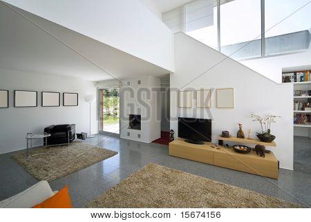 innen modernes Ziegelhaus