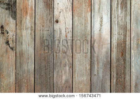 Grungy, Rough Wooden Unfinished Natural Planks Background