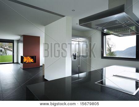interior de la casa hermosa