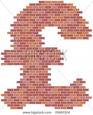 Rebuilding the British economy or the British construction industry pound symbol