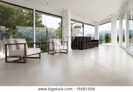 hermoso interior de una casa moderna