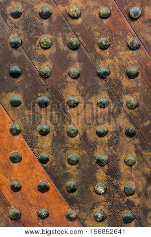 Ancient wooden door texture background,Close up of wooden door,Close up of wooden door