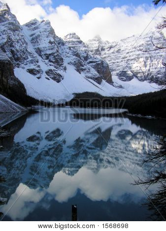 Moraine Lake Reflection, Banff National Park, Canada