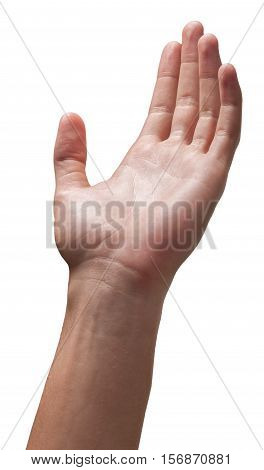 Empty Hand Reaching for Something / Raised Hand