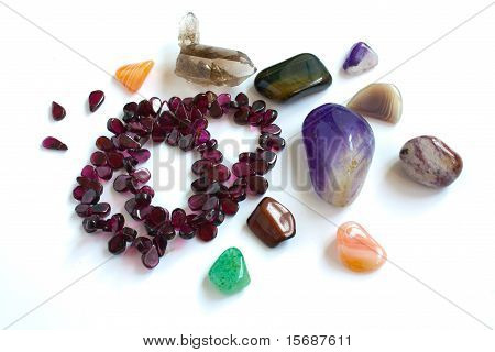 semi-precious stones from Ural
