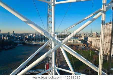 The London Eye, London, Uk